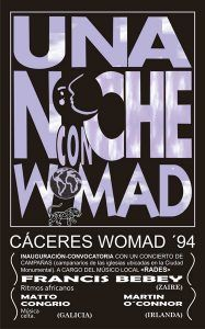WOMAD CÁCERES 1994