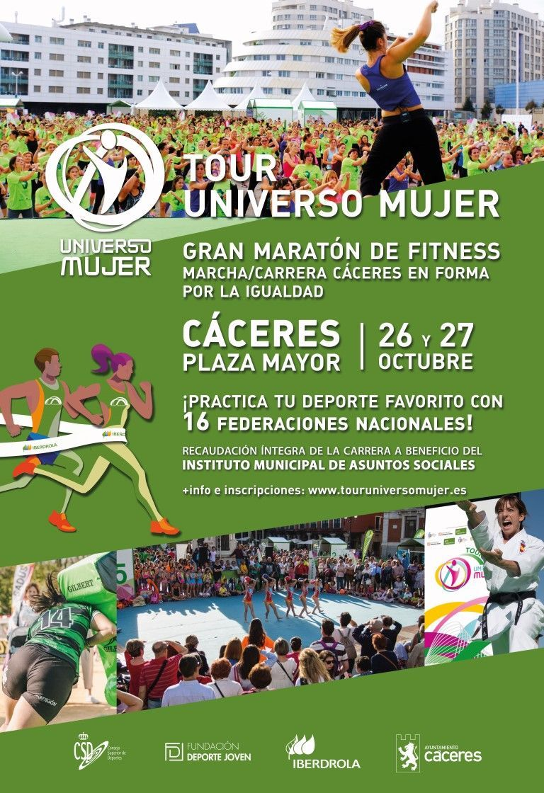 Tour Universo Mujer Cáceres
